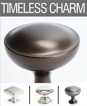 Timeless Charm Knobs