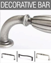 Decorative Bar Pulls