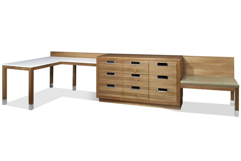 Dresser Desk Combo
