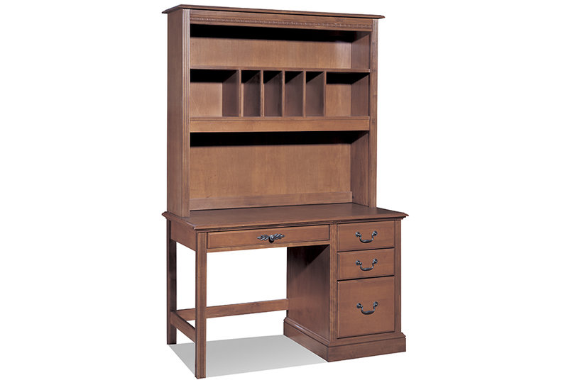 Desk with Hutch Top