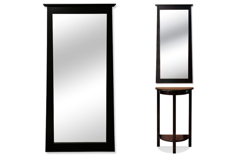 Demilune Table Mirror