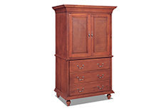 Armoire with Pocket Doors