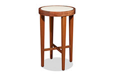 Round Small Bedside Table